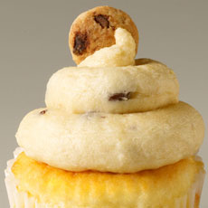 CUP1 - Chocolate Chip Cookie Dough Cupcake