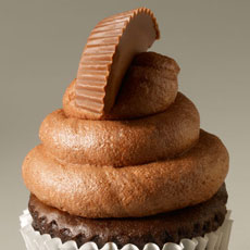 CUP7 - Peanut Butter Paradise Cupcake
